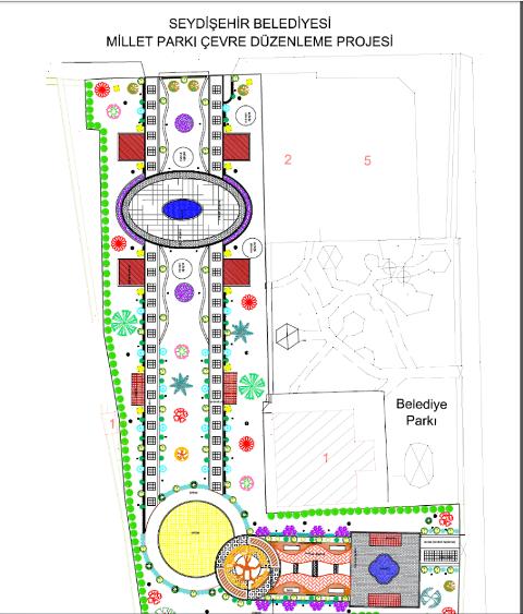 Seydişehir'in çehresi Millet Parkı ile değişecek