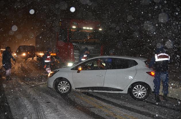 Antalya-Konya kara yolunda kar yağışı bekleniyor