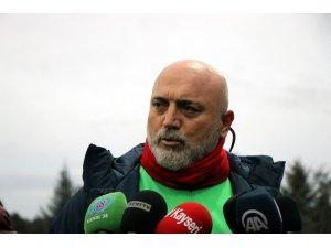 Hikmet Karaman, Kayserispor'un başında ilk antrenmanına çıktı