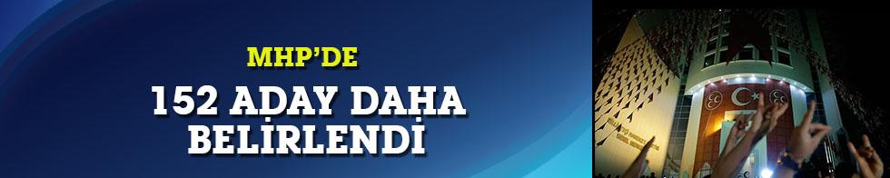 MHP'de 152 belediye başkan adayı daha belirlendi