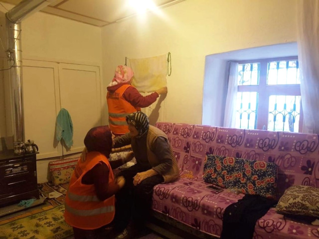 Evde Bakım Hizmetleri ile Dua Alıyorlar