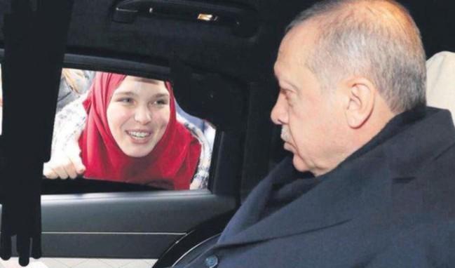 İşte Erdoğan'ın telefonda konuştuğu 'Oflu Aylin'