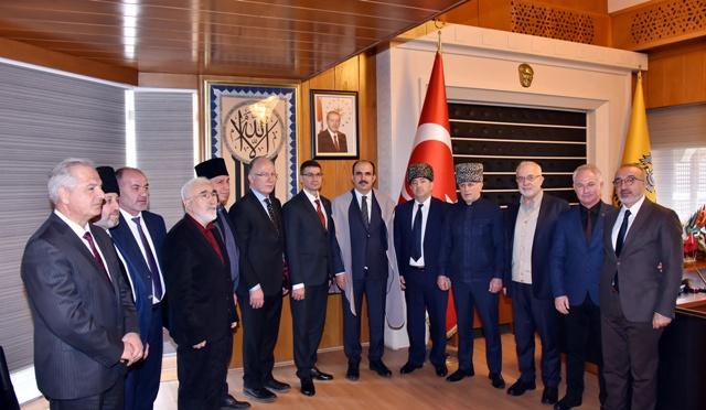 Adıgey Özerk Cumhuriyeti'nden Başkan Altay'a Ziyaret