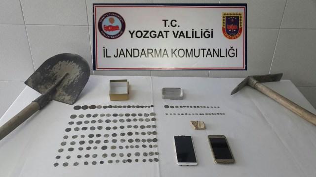 Kaçak kazıcılar Yozgat'ta yakalandı