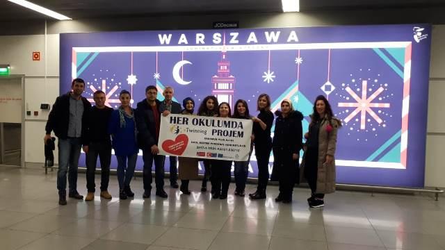 eTwinning  Yurt Dışı Hareketliliği son buldu