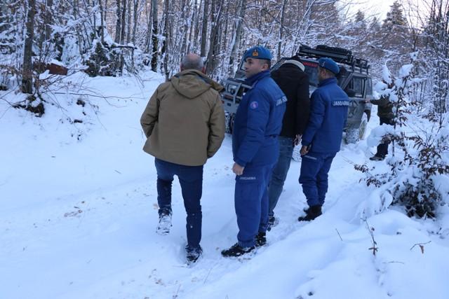 Bolu'da aranan araç Konya'da çıktı