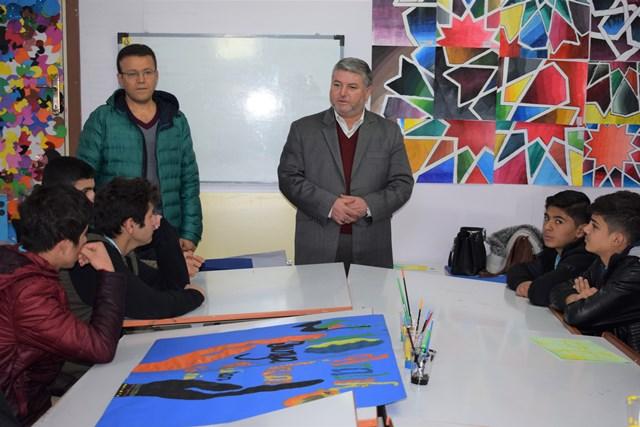 Başak Koleji yabancı öğrencileri ağırladı