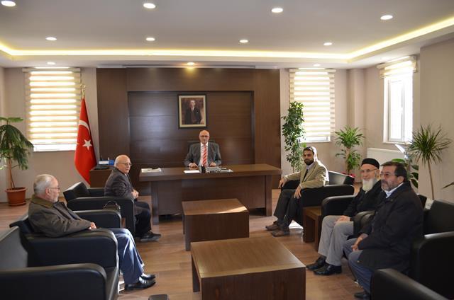 Kaymakam Kadiroğlu'na ziyaretler