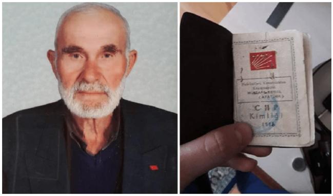 CHP'nin en yaşlı üyesi hayatını kaybetti!