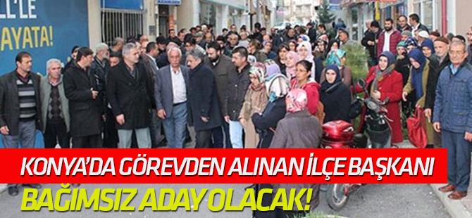 AK Parti, Ayaklanan Seydişehir İlçe Teşkilatını Görevden Aldı