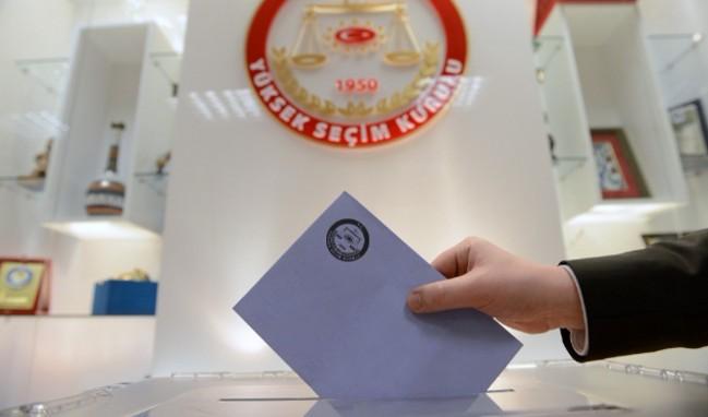 Konya ilçelere göre seçmen sayısı (31 Mart 2019)