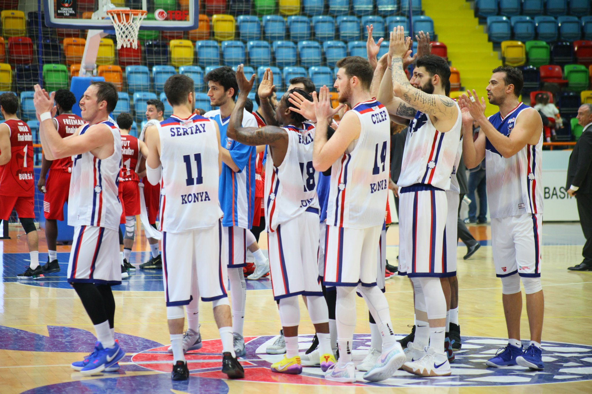 İTÜ:93- Selçuklu Basketbol: 96