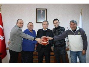 Bellona Kayseri Basketbol il Milli Eğitim Müdürü'nü ziyaret etti
