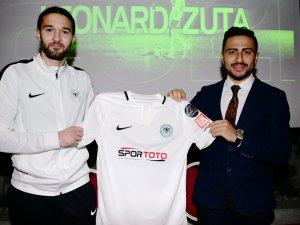 Leonard Zuta'dan Konyaspor'a 2,5 yıllık imza