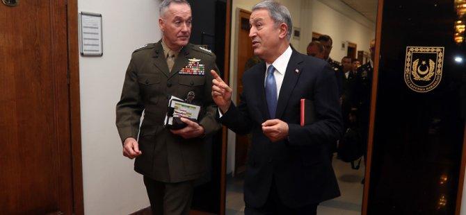 Amerika'dan Dunford'un Ankara temaslarına ilişkin açıklama