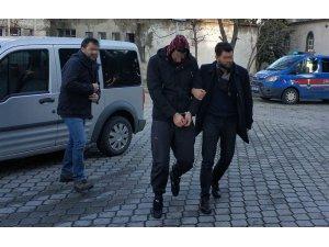 Samsun'da DEAŞ'tan gözaltına alınan Iraklı adliyede