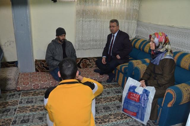 Başkan Hançerli'den Suriyeli aileye taziye