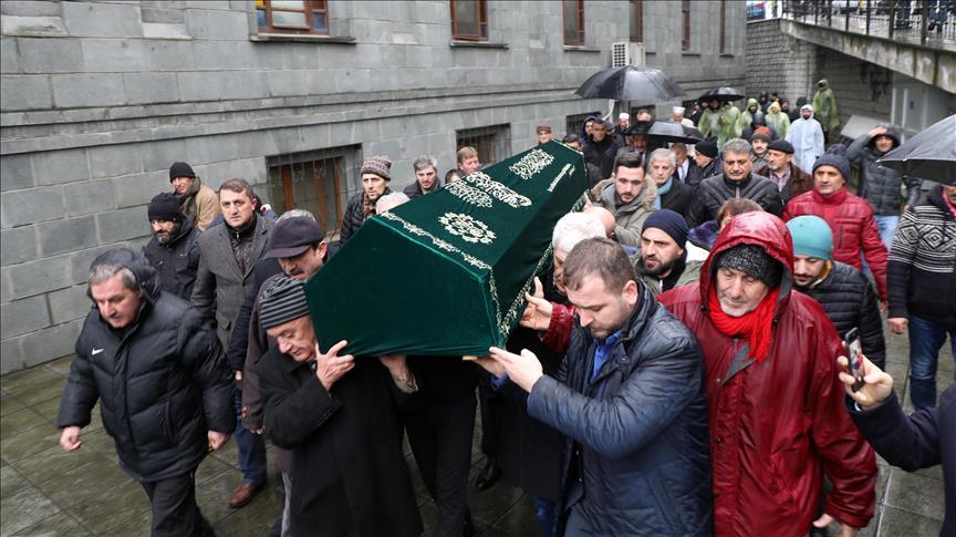 Cumhurbaşkanı Erdoğan'ın dayısı toprağa verildi