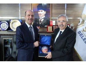 Milletvekili Soluk'tan Başkan Bozkurt'a ziyaret