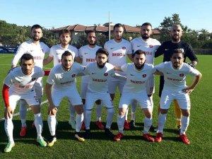 Akşehirspor hazırlık maçında mağlup