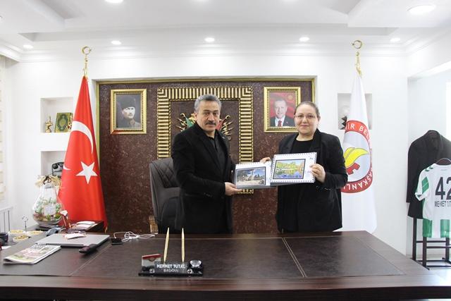 Seydişehir'in tanıtımı için pul bastırıldı