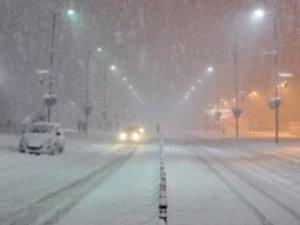 Sivas'ta hava sıcaklığı eksi 30 dereceye kadar düştü
