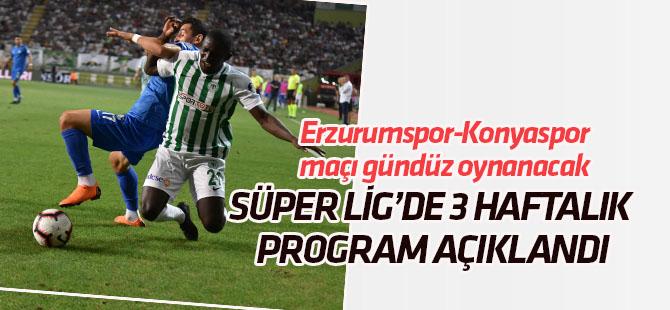 BB Erzurumspor-Konyaspor maçı 20 Ocak Pazar günü gündüz oynanacak