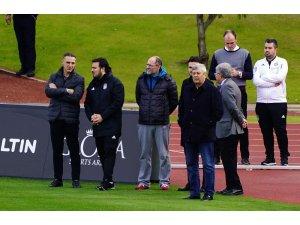 Mircea Lucescu'dan Beşiktaş kampına ziyaret