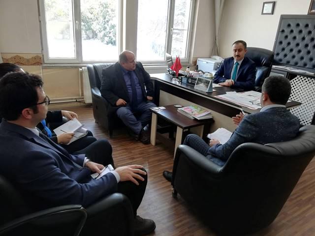Bozkır'daki tarım projeleri değerlendirildi