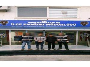 Didim'de 2 hırsızlık şüphelisi yakalandı