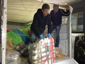 İzmir'de 200 kilogram daha skunt ele geçirildi