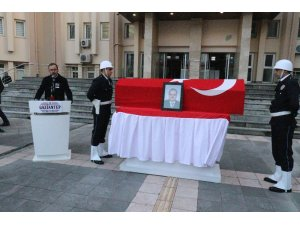 Cerablus'tan sorumlu Vali Yardımcısı İmamgiller için Gaziantep'te tören düzenlendi