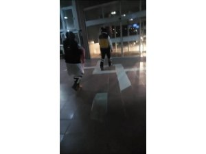 Bebeği terminal tuvaletine bırakıp kaçtı