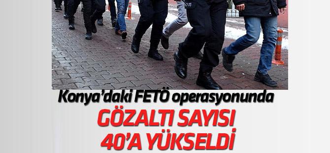 FETÖ'nün askeri mahrem yapılanmasına yönelik operasyonda gözaltı sayısı 40'a yükseldi