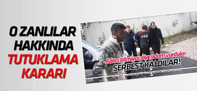 Konya'da 2 kişiyi silahla yaralayıp serbest kalan şüpheliler için tutuklama kararı