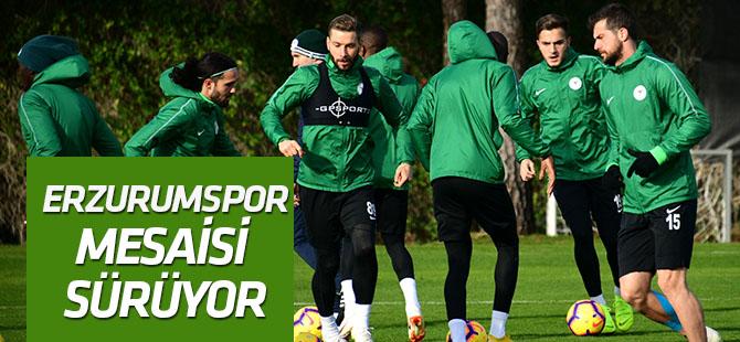Atiker Konyaspor'da Erzurumspor maçı hazırlıkları sürüyor