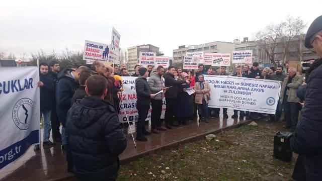 Nafaka Mağdurları Ankara'da buluştu:  100 GÜN DOLDU BİR ADIM ATILMADI