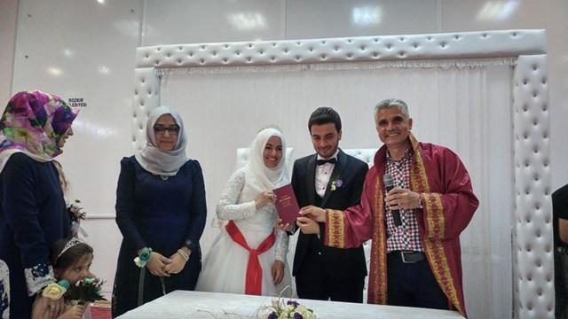 Bozkır'da 5 yılda 888 çift evlendi