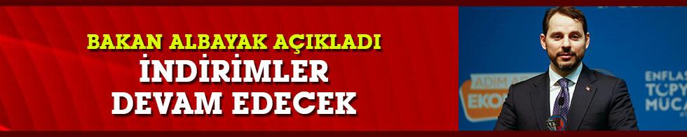 """Albayrak: """"ÖTV ve KDV indirimlerini devam ettiriyoruz"""""""