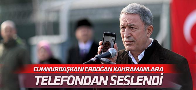 Cumhurbaşkanı Erdoğan Afrin kahramanlarına seslendi
