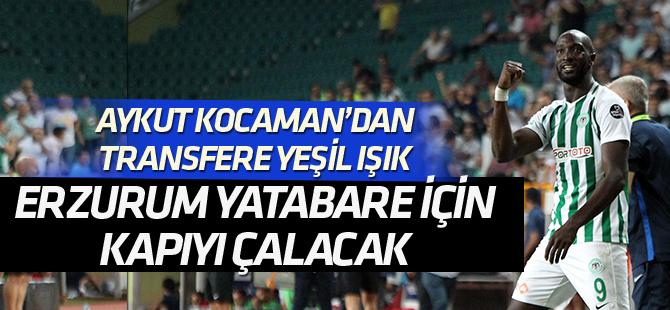 Erzurumspor, Yatabare için Konyaspor'un kapısını çalacak