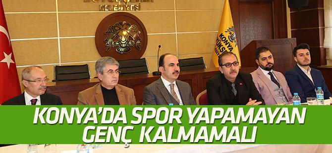 Başkan Altay spor basınıyla buluştu