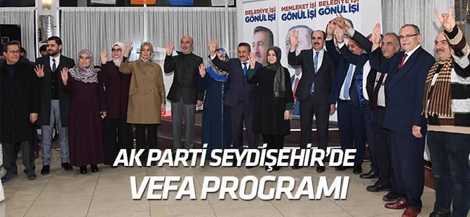 AK Parti Seydişehir'den vefa programı