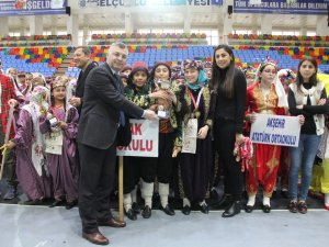 Okullar Halk Oyunlarında il birincileri belirlendi
