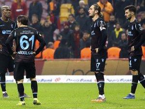 Trabzonspor'un İstanbul'da galibiyet hasreti devam etti
