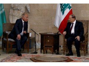 """Ebu Gayt'tan """"Suriye'nin Arap Birliği üyeliği"""" açıklaması"""