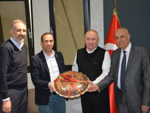 Malatyaspor yönetimi yemekte ağırlandı