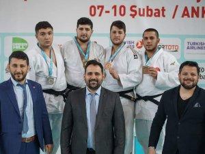 Konya Büyükşehirli judoculardan 3 madalya
