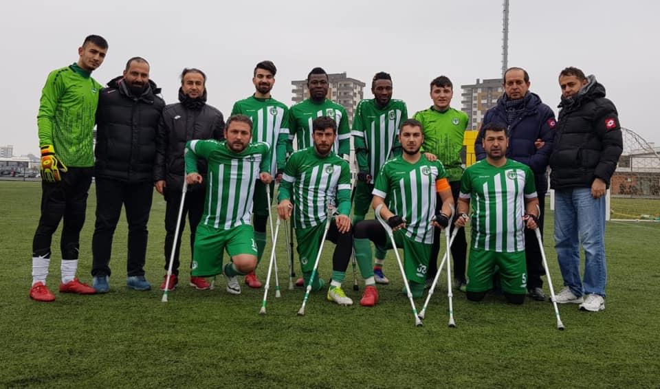 Ampute Futbol Türkiye Kupası Tokat'ta oynanacak