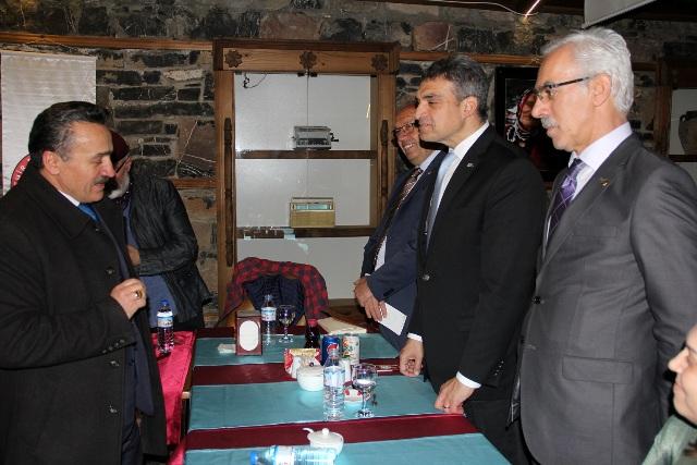 CHP'li Oran, Seydişehir'de